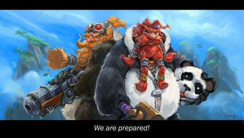 Fan Art Mists of Pandaria